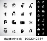 simple business training icons...