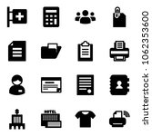solid vector icon set   first... | Shutterstock .eps vector #1062353600