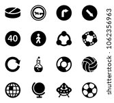 solid vector icon set   pill... | Shutterstock .eps vector #1062356963
