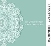 invitation or card template... | Shutterstock .eps vector #1062373394
