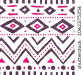 Seamless Ethnic Pattern. Cute...