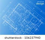 architecture layout | Shutterstock .eps vector #106237940