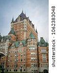 quebec city  quebec  canada ... | Shutterstock . vector #1062383048