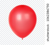 3d realistic colorful balloon.... | Shutterstock .eps vector #1062386750