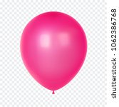 3d realistic colorful balloon.... | Shutterstock .eps vector #1062386768
