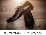 men's leather shoes brown... | Shutterstock . vector #1062392663