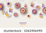 ramadan kareem concept... | Shutterstock .eps vector #1062406490