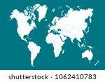 world map vector | Shutterstock .eps vector #1062410783