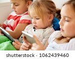 childhood  technology and... | Shutterstock . vector #1062439460