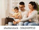 family  technology  parenthood... | Shutterstock . vector #1062439910