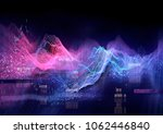 abstract visualization of data... | Shutterstock . vector #1062446840