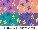 set for 4 vector seamless... | Shutterstock .eps vector #1062454760