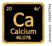 periodic table element calcium... | Shutterstock .eps vector #1062457946