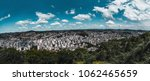 wide angle panorama of an urban ... | Shutterstock . vector #1062465659