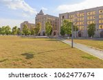 office building at jinjialin... | Shutterstock . vector #1062477674
