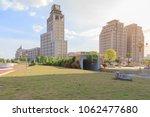 office building at jinjialin... | Shutterstock . vector #1062477680