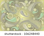 light green  background with... | Shutterstock .eps vector #106248440