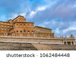 low angle view vatican museum...   Shutterstock . vector #1062484448