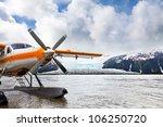 seaplane or float plane in... | Shutterstock . vector #106250720