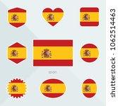 spain flag. national flag of... | Shutterstock .eps vector #1062514463