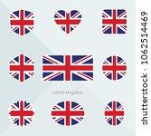 united kingdom flag. national...   Shutterstock .eps vector #1062514469
