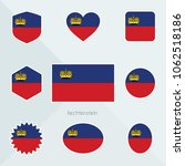 liechtenstein flag. national... | Shutterstock .eps vector #1062518186