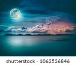 beautiful landscape view of the ... | Shutterstock . vector #1062536846