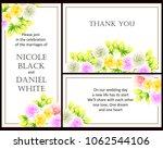 vintage delicate invitation... | Shutterstock .eps vector #1062544106