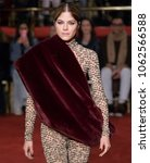 Small photo of NEW YORK, NY - February 10, 2018: Selma Blair walks the runway at the Christian Siriano Fall Winter 2018 fashion show during New York Fashion Week