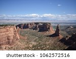 geologic canyons of colorado... | Shutterstock . vector #1062572516