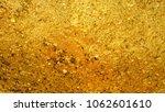 golden luxury texture background | Shutterstock . vector #1062601610