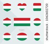 hungary flag. national flag of... | Shutterstock .eps vector #1062602720