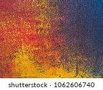 abstract art background orange... | Shutterstock . vector #1062606740