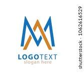 ma initial logo vector | Shutterstock .eps vector #1062616529