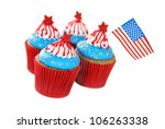 Cupcakes Decorated For 4th Of...