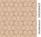 beige and brown geometric print.... | Shutterstock .eps vector #1062636623