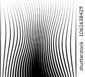 abstract warped diagonal... | Shutterstock .eps vector #1062638429