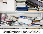 declutter concept   lots of... | Shutterstock . vector #1062640028