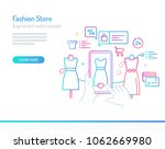 the concept of augmented...   Shutterstock .eps vector #1062669980