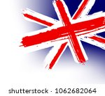 flag of great britain in the... | Shutterstock .eps vector #1062682064