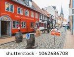 flensburg  germany   february 9 ...   Shutterstock . vector #1062686708
