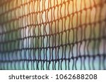 tennis net against with... | Shutterstock . vector #1062688208