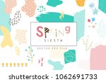 vector abstract covers... | Shutterstock .eps vector #1062691733