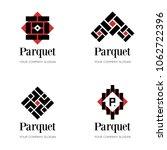 parquet logo template. flooring ... | Shutterstock .eps vector #1062722396