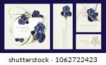 a set of luxury cards with the... | Shutterstock .eps vector #1062722423