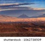 moon valley  atacama desert ... | Shutterstock . vector #1062738509