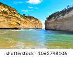the loch ard gorge is part of... | Shutterstock . vector #1062748106