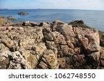 the pink granite coast  cote de ... | Shutterstock . vector #1062748550