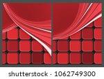 corporate cards templates   Shutterstock . vector #1062749300