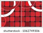 corporate cards templates   Shutterstock . vector #1062749306